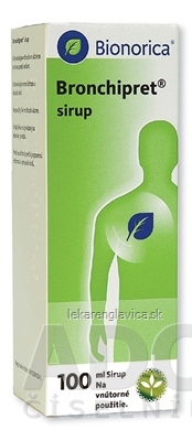 BRONCHIPRET SIRUP SIR 1X100 ML (LIEK.SKL.)