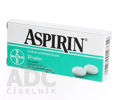 ASPIRIN TABLETY 500 MG 1X10 KS