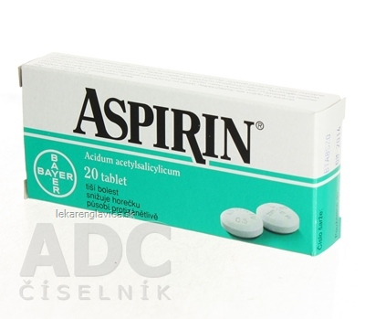 ASPIRIN TABLETY 500 MG 1X20 KS