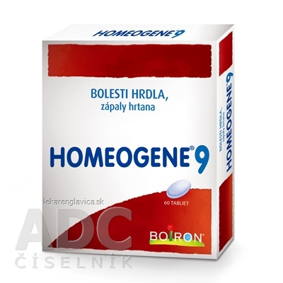 HOMEOGENE 9 TABLETY 1X60 KS