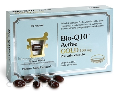 BIO-Q10 ACTIVE GOLD 60KS CPS 1X60 KS