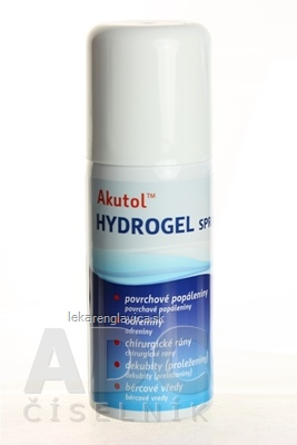 AKUTOL HYDROGEL SPRAY 75 G