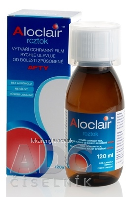 ALOCLAIR ÚSTNA VODA 1X120 ML