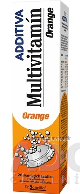 ADDITIVA MULTIVITAMÍN POMARANC SUMIVE TABLETY 1X20 KS