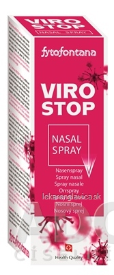 VIROSTOP NASAL SPRAY 20ML