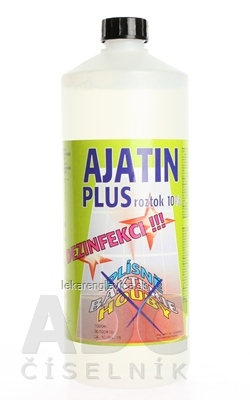 AJATIN PLUS ROZTOK  10% 1X1000 ML
