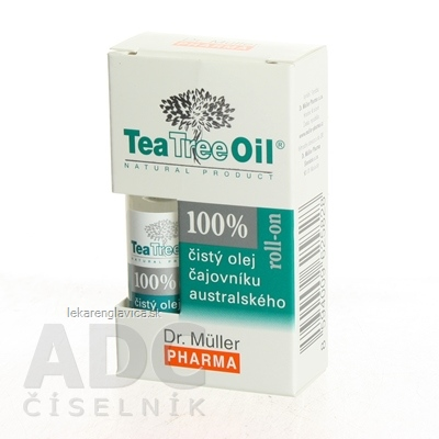 DR. MÜLLER TEA TREE OIL 100% CISTY OLEJ ROLL-ON OLEJ 1X4 ML