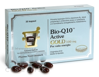 BIO-Q10 ACTIVE GOLD 30KS CPS 1X30 KS