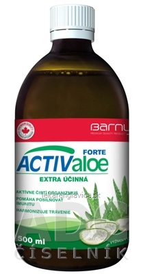 BARNY'S ACTIVEALOE FORTE 1X500 ML