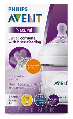AVENT FLASA NATURAL PP 125 ML 1X1 KS