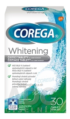COREGA WHITENING CISTIACE TABLETY 1X30KS