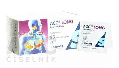 ACC LONG šumivé tablety 600 MG 1X20 KS
