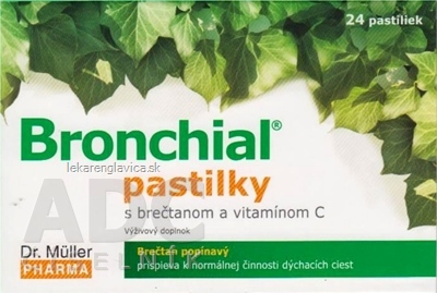 DR. MULLER BRONCHIAL PASTILKY                      24KS S BRECTANOM A VITAMINOM C