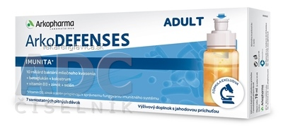 ARKO DEFENSES ADULT 1X7 FLASTICIEK