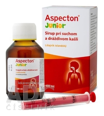 ASPECTON JUNIOR SIRUP 1X100 ML
