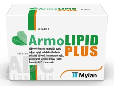 ARMOLIPID PLUS                                     60KS TBL 1X60 KS