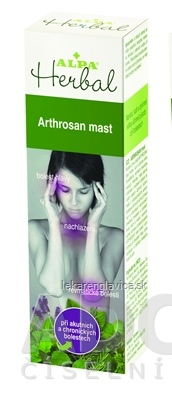 ALPA HERBAL ARTHROSAN MAST                         30G 1X30 G