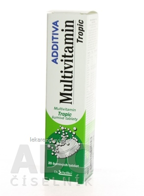 ADDITIVA MULTIVITAMÍN TROPIC SUMIVE TABLETY 1X20 KS