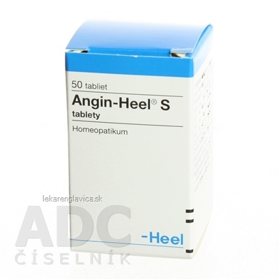 ANGIN-HEEL S TABLETY 1X50 KS